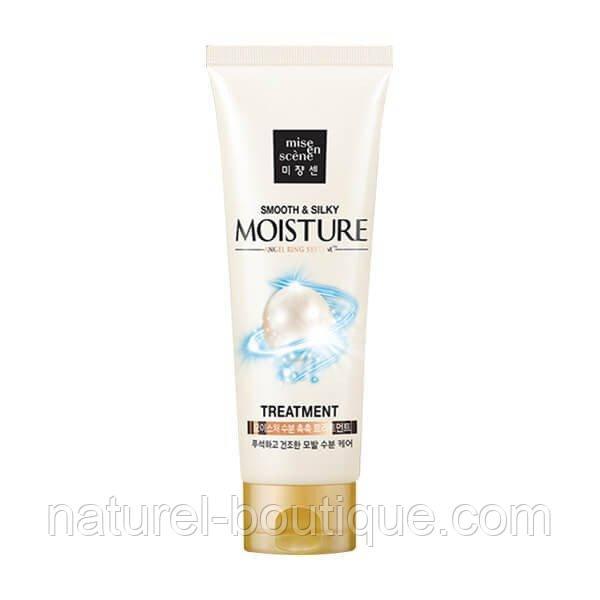 Маска для волос Mise en Scene Pearl Smooth Silky Moisture  увлажняющая