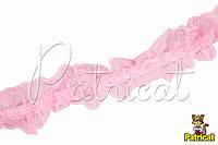 Кружево на резинке Розовое 4 см 1 м