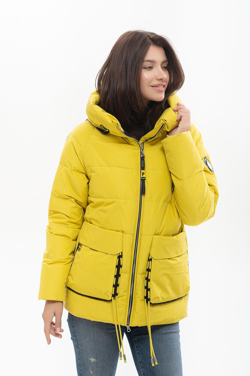 Пуховик Peercat 20-808 жёлтого цвета XL