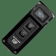 Сверхмощный наключный фонарь с OLED дисплеем Nitecore TUP