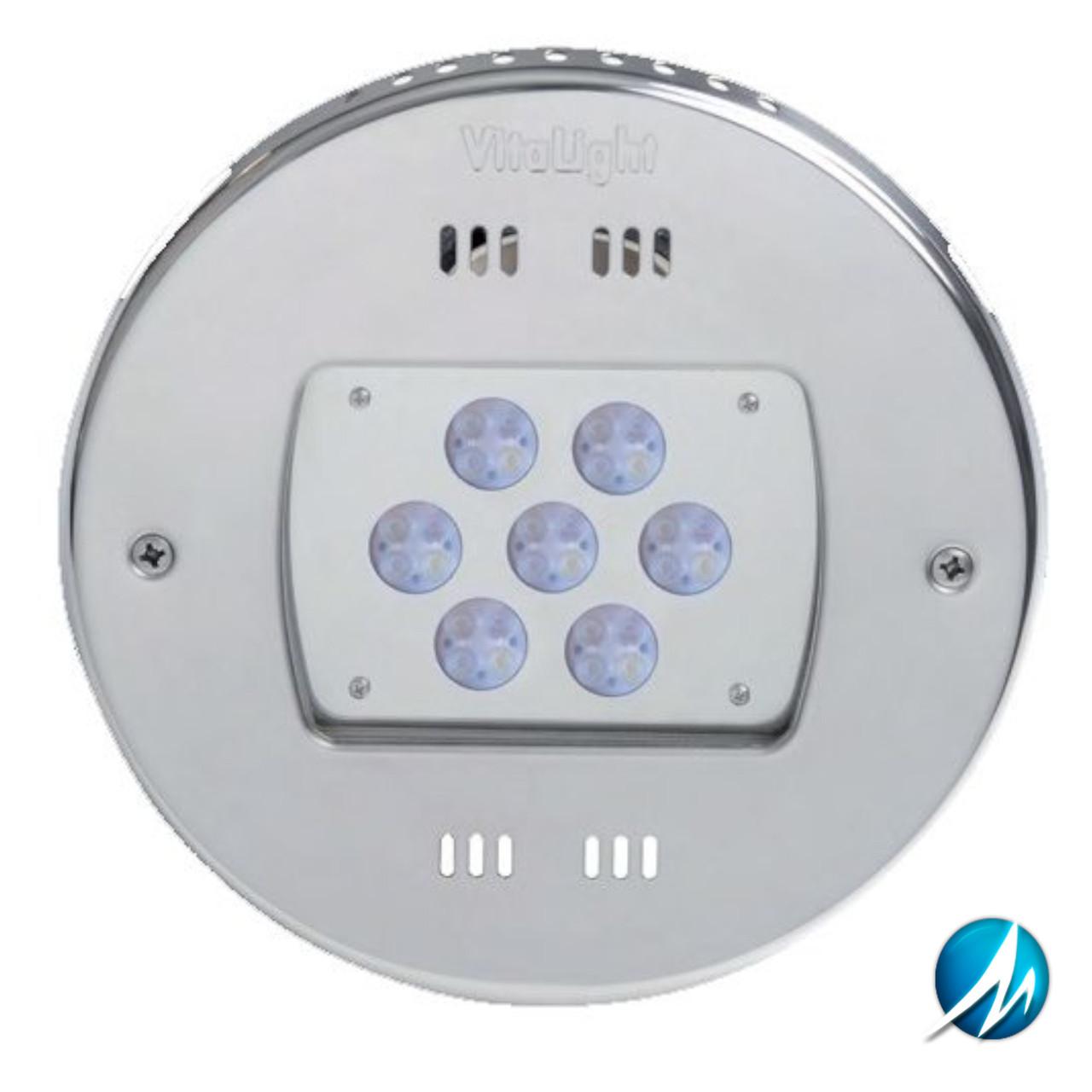 Прожектор светодиодный 4 цвета/ 28 диодов, 24V/DC Ø 270 мм