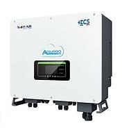 Гібридний інвертор AZZURRO HYD10000-T, фото 1