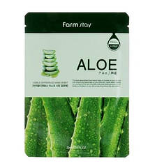 Маска для лица FarmStay Aloe увлажняющая с экстрактом алоэ 23 мл