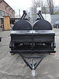 Двойной смокер-гриль на 2-х осном шасси, фото 6