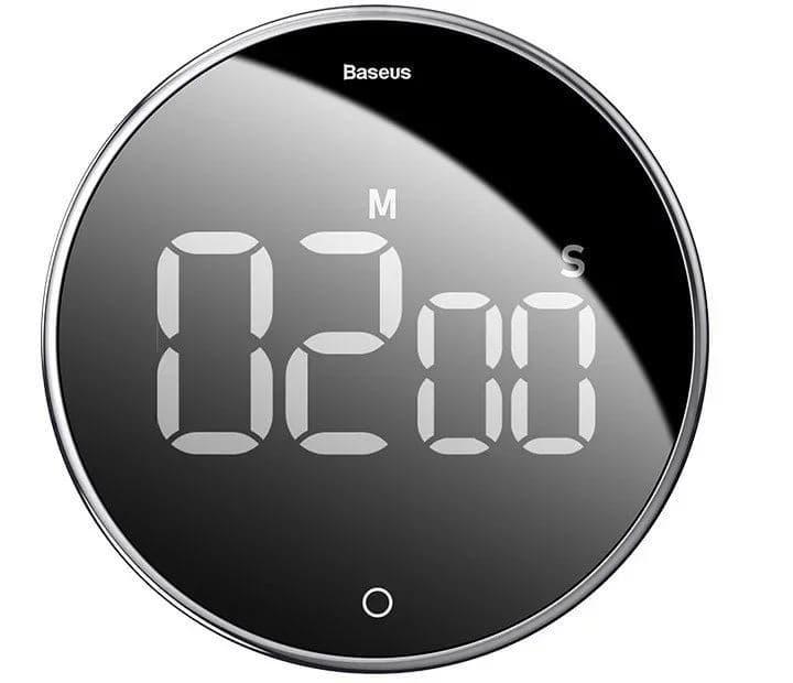 Таймер Baseus Heyo rotation countdown timer с цифровым LED дисплеем
