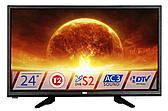 "Телевизор DEX LED LE2455ТS2 (DVB-Т2, DVB-C, DVB-S2, AC3) 24"""