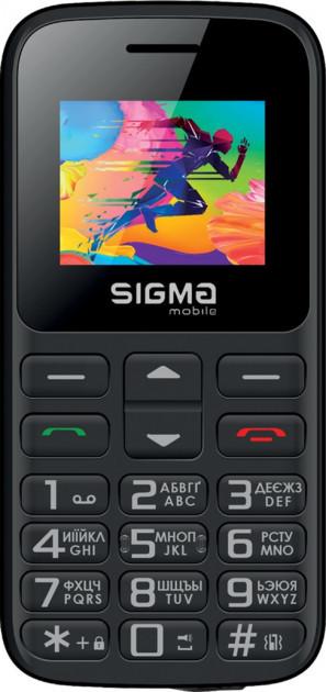 Мобильный телефон Sigma mobile Comfort 50 HIT2020 Black