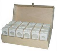 Холдеры для монет диаметром от 40 до 53 мм. Самоклеящиеся