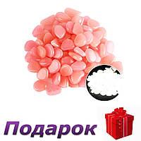 Светящиеся камни для декора сада аквариума 100 шт  Розовый, фото 1