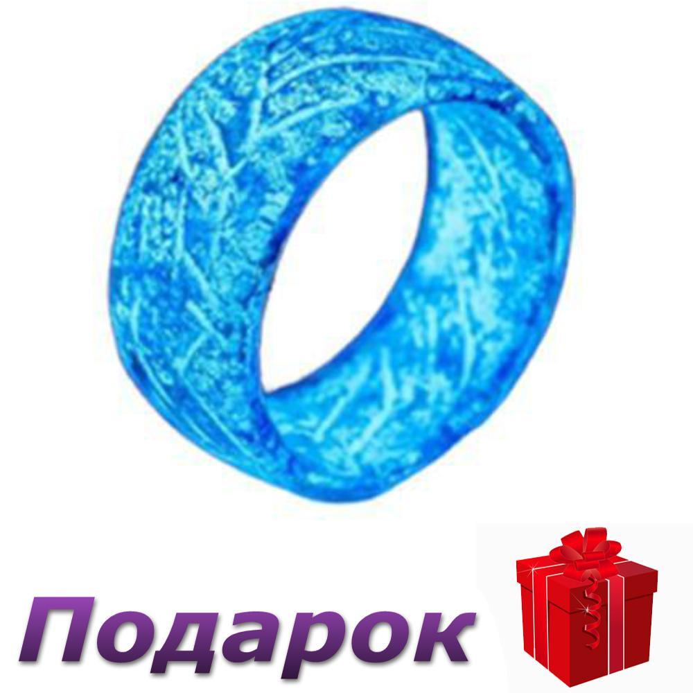 Флуоресцентное Кольцо Rainbow размер 11 Синий