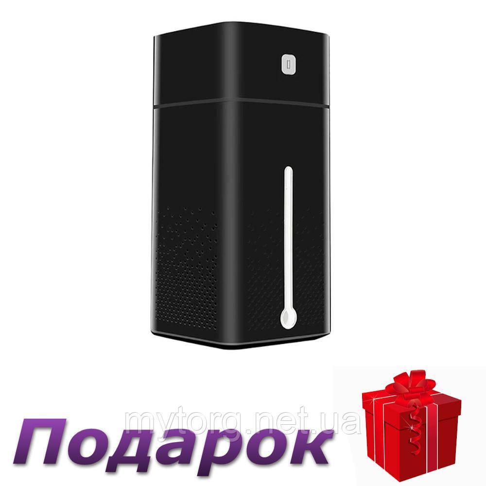 Увлажнитель воздуха Lesko KS 600 с подсветкой 1000 мл  Черный