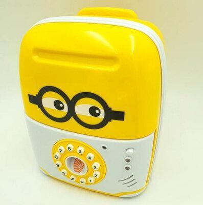 Электронная Копилка сейф SAVING BOX | Копилка миньон
