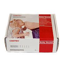 Фетальный Допплер с наушниками и гелем, детектор сердцебиения для беременных, карманный допплер с гелем