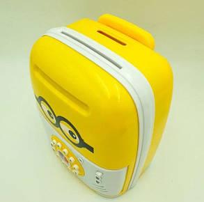 Электронная Копилка сейф SAVING BOX | Копилка миньон, фото 2