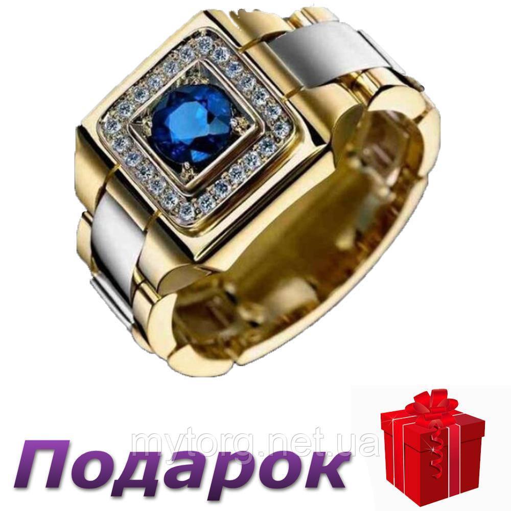 Кольцо-печатка Jewelry размер 11 Золотой