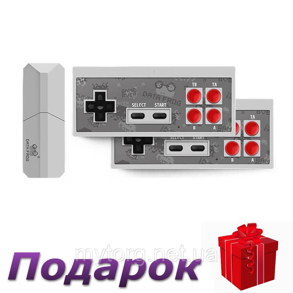 Игровая консоль Data Frog 4K с двумя проигрывателями и в стиле ретро 568 классических игр Y2 RCA