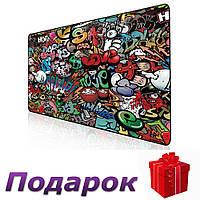 Коврик для мышки Paint игровой 400x900 mm Paint, фото 1