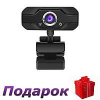 Компьютерная камера прищепка 1080P HD 5MP USB с микрофоном L69 S60 1080P Черный