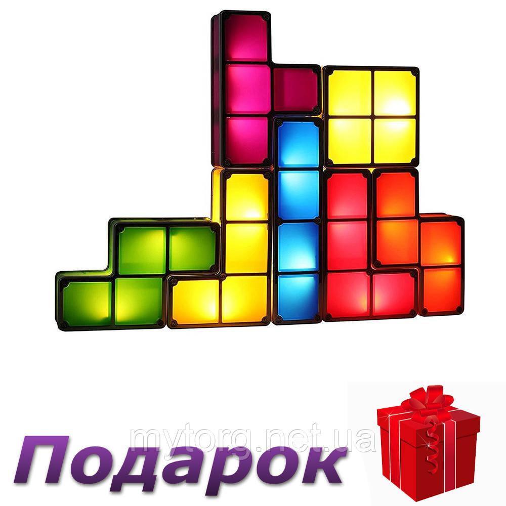 Настольный светильник Тетрис Diy 3D