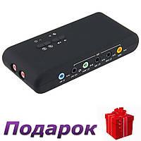 Звуковая карта USB 2.0 CMI6206, фото 1