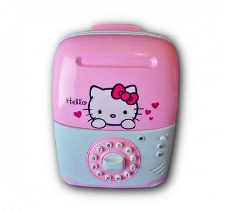 Электронная Копилка сейф SAVING BOX   Hello Kitty, фото 2