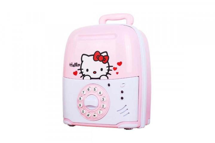 Электронная Копилка сейф SAVING BOX   Hello Kitty