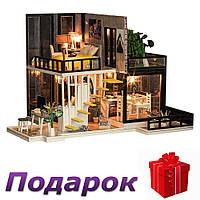 Кукольный дом Diy деревянный 3D, фото 1