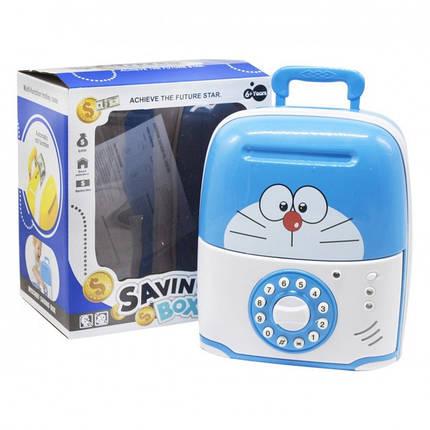 Электронная Копилка сейф SAVING BOX | КОТ, фото 2