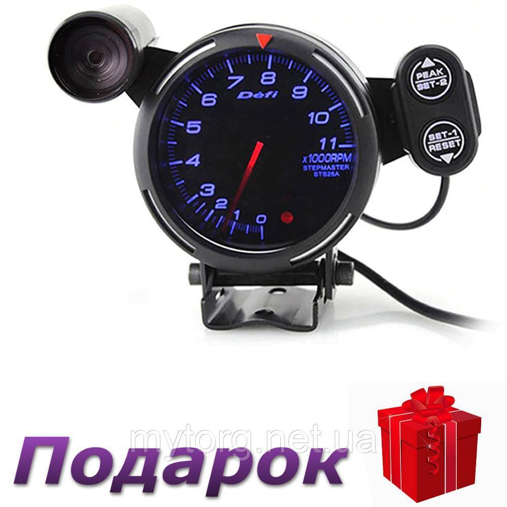 Тахометр Defi 0-11000 об/мин  Синий