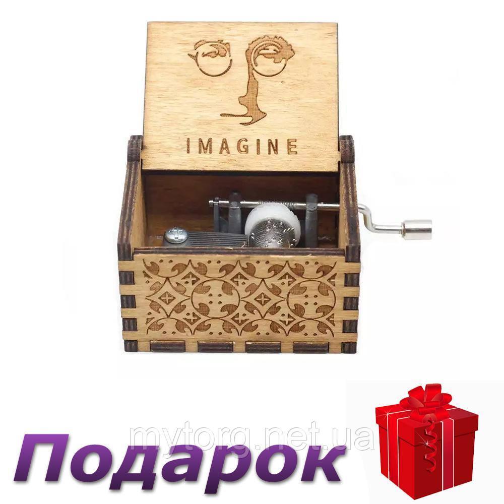 Музыкальная шкатулка в стиле ретро Imagine №25