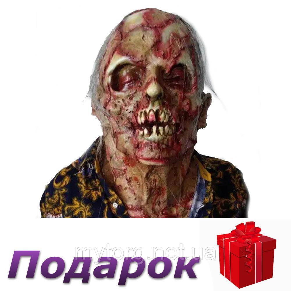 Маска Зомби из латекса 2