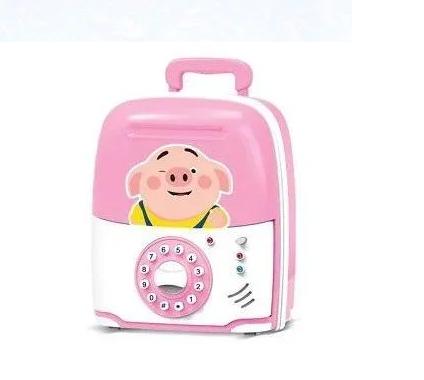 Электронная Копилка сейф SAVING BOX | Свинка, фото 2
