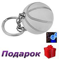 Брелок для ключей светодиодный Баскетбольный мяч, фото 1