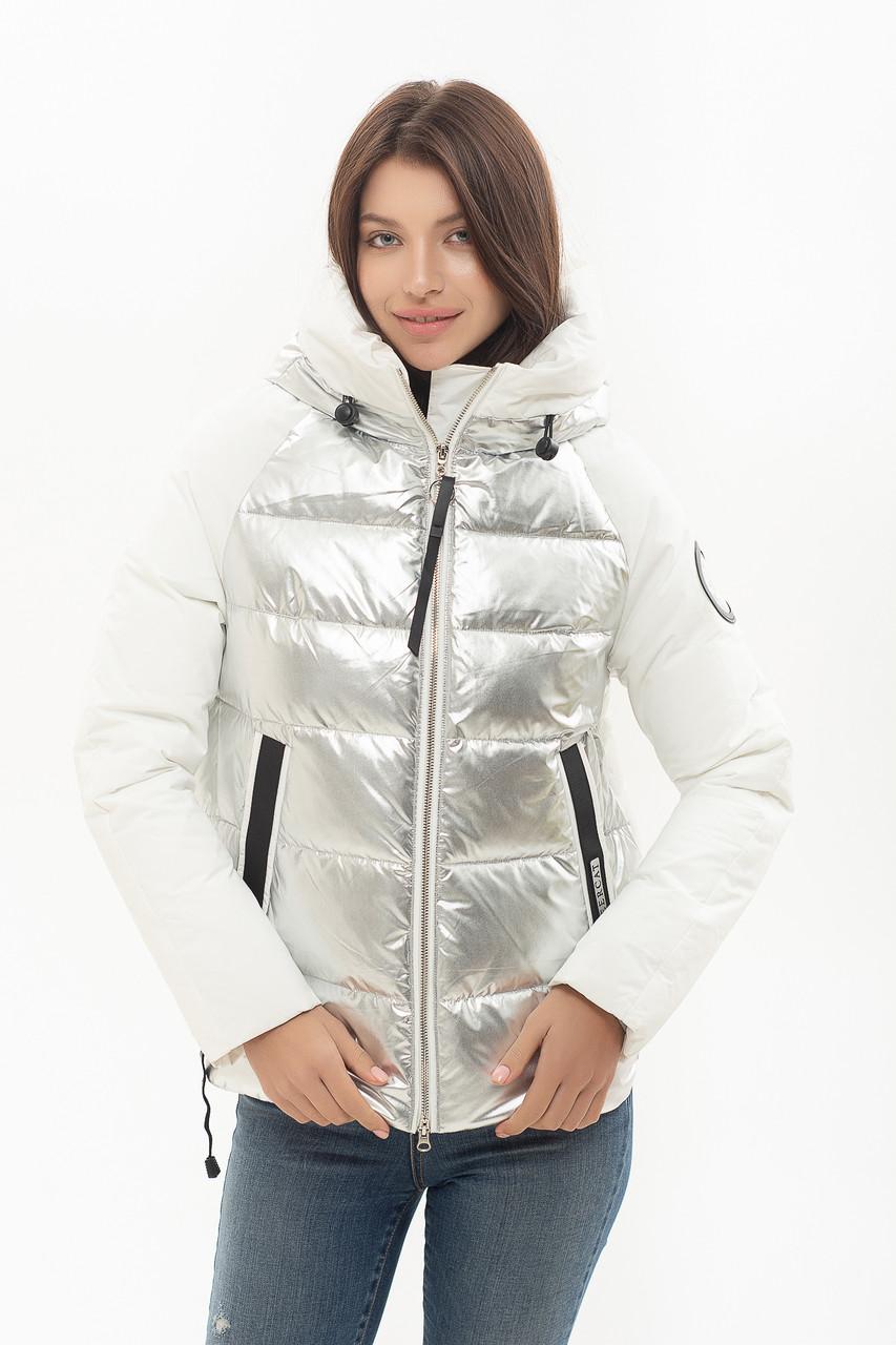 Пуховик Peercat 20-801 цвета серебро XL