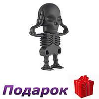 Флешка Скелет USB 64 Gb Черный, фото 1