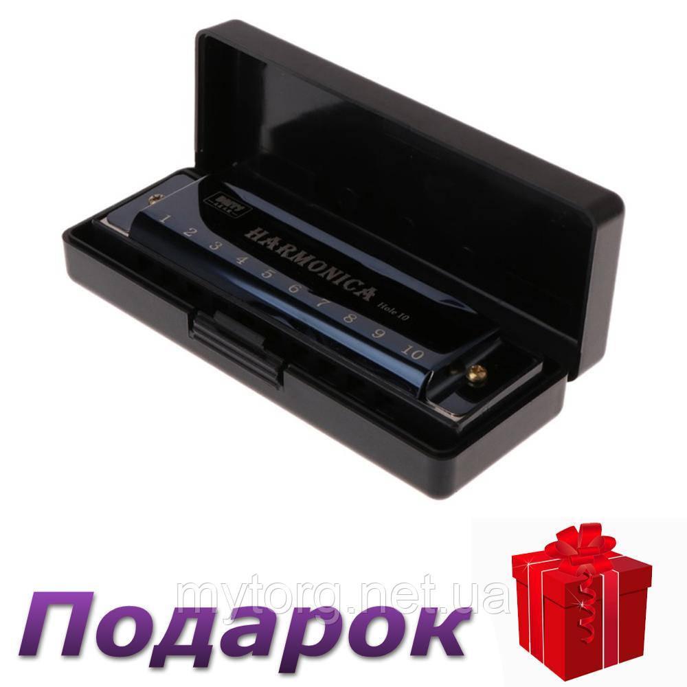 Губная гармошка Harmonica BMT1  Черный