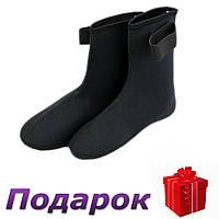 Носки неопреновые для дайвинга S Черный, фото 1