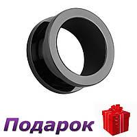 Тоннели в ухо Store 2 шт. 6 мм Черный, фото 1