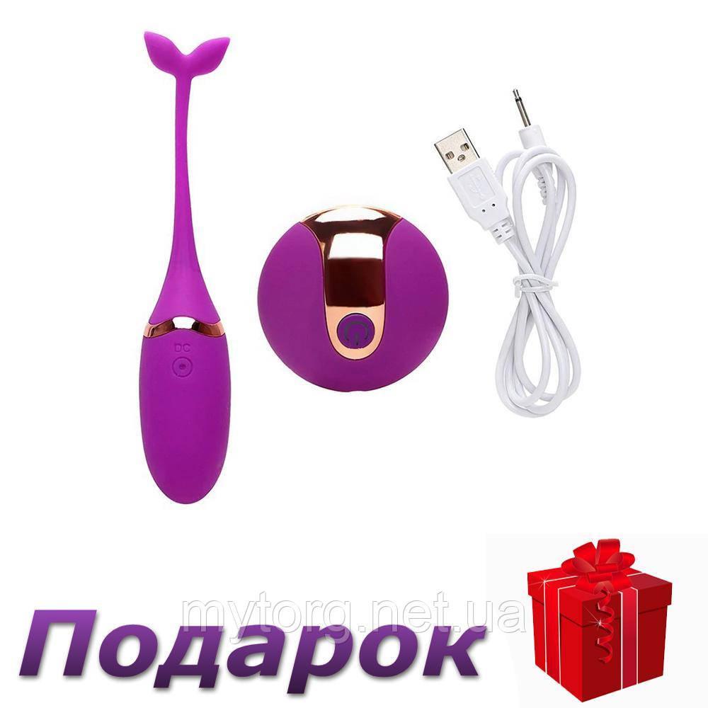 Виброяйцо Pretty на дистанционном управлении USB  Фиолетовый