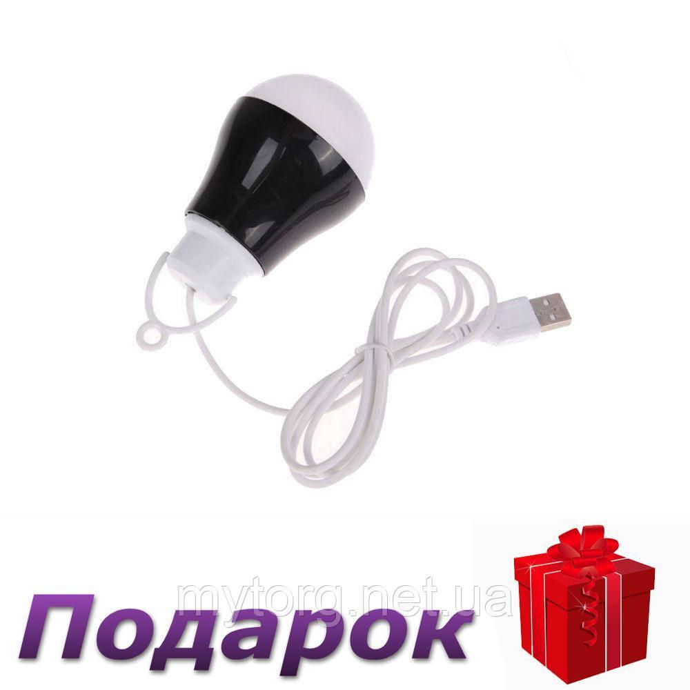 LED-лампа  USB  энергосберегающая  Черный