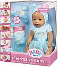 Кукла Zapf Baby Born Бэби Борн девочка зеленоглазая оригинал Zapf Creation 916786C, фото 4