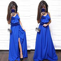 Платье женское длинное и красивое, фото 2