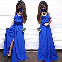 Платье женское длинное и красивое, фото 3