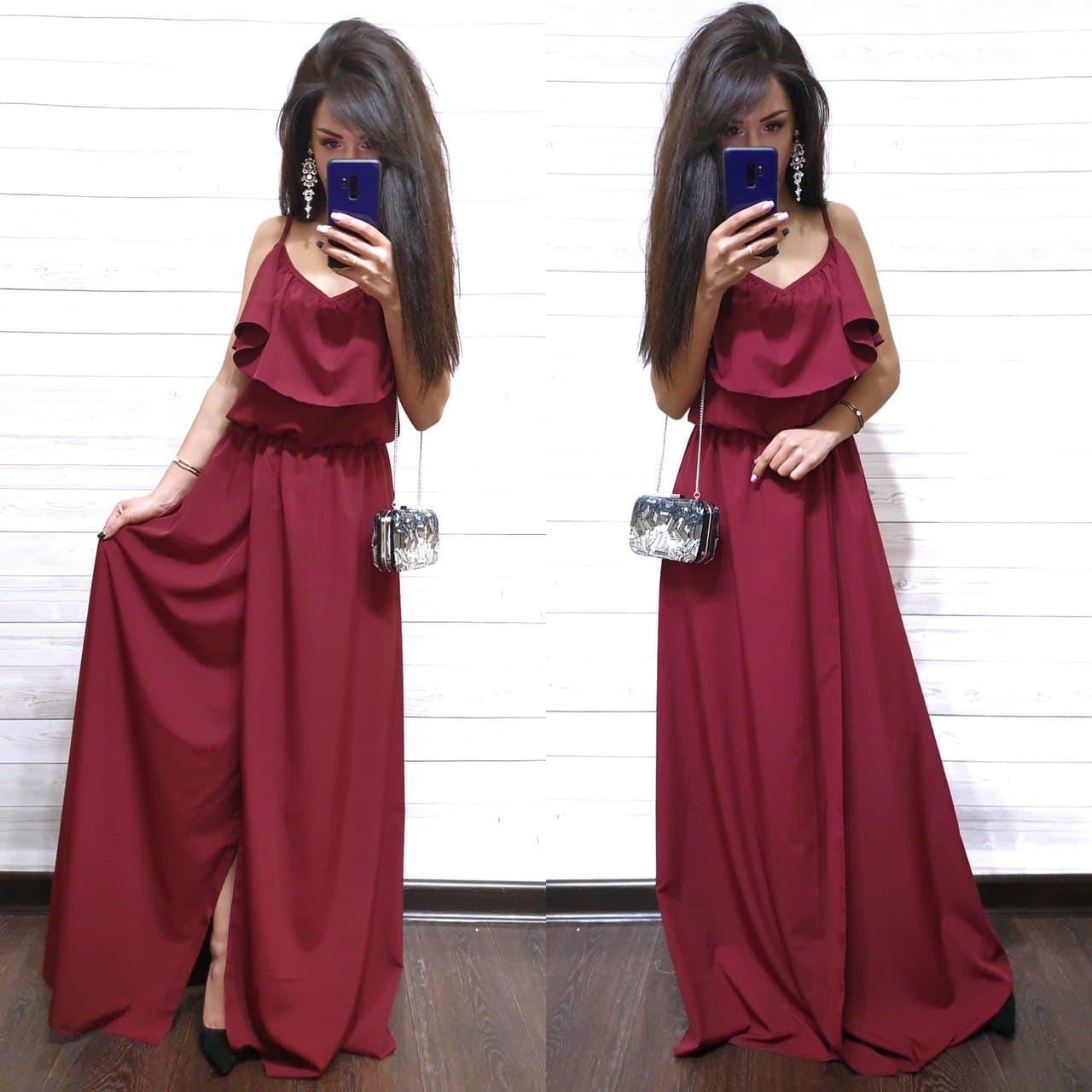 Платье женское длинное и красивое