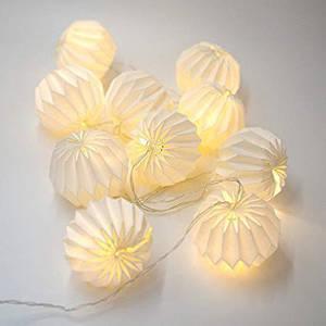 Гирлянда тайские шарики из бумаги