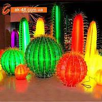 Светящееся дерево LED в виде кактуса и др. ., фото 1