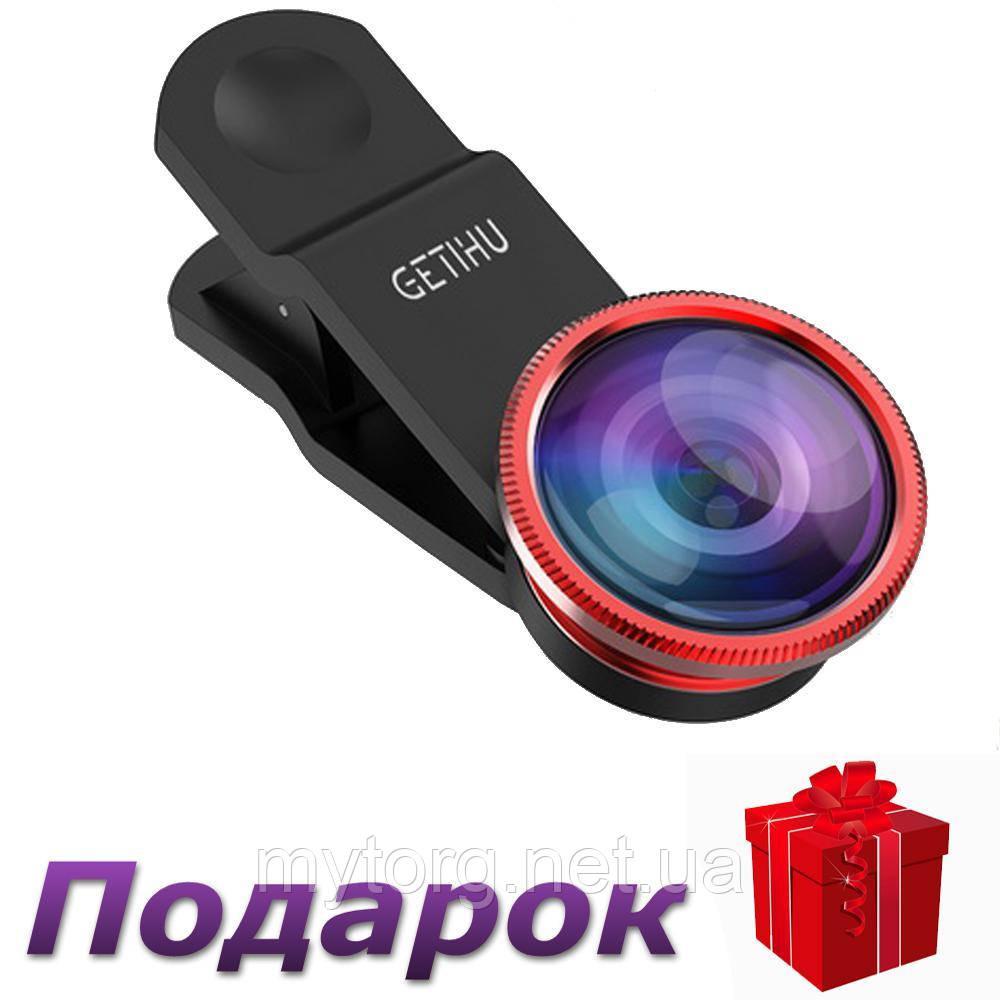 Объективы для смартфонов GETIHU Набор из 3 линз  Красный