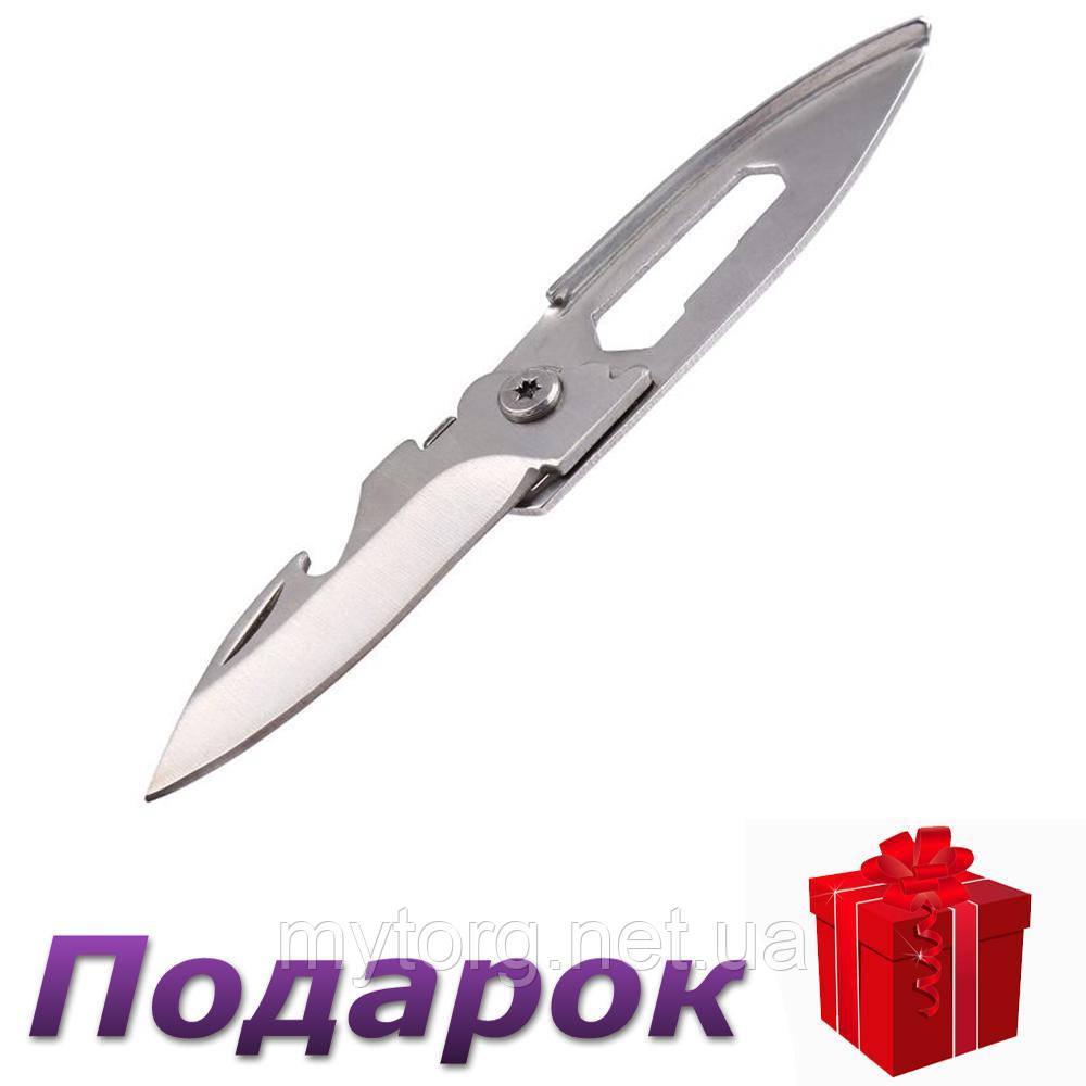 Складной нож Tegoni 3 в 1 многофункциональный  Белый