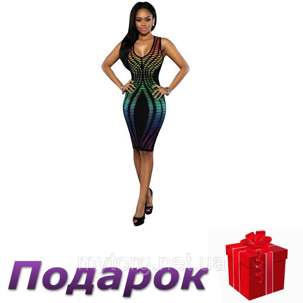Платье Haoyuan облегающее женское L