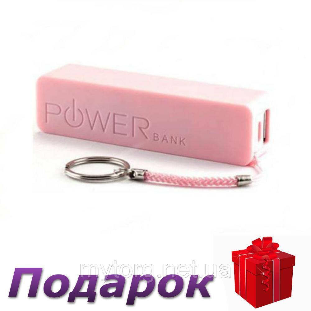 Кейс Power Bank для аккумулятора 18650 Без аккумулятора Розовый